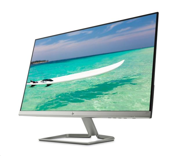 HP 27f, 27 IPS/LED, 1920x1080, 1000:1/10000000:1, 5ms, 300cd, VGA/HDMI, 2y