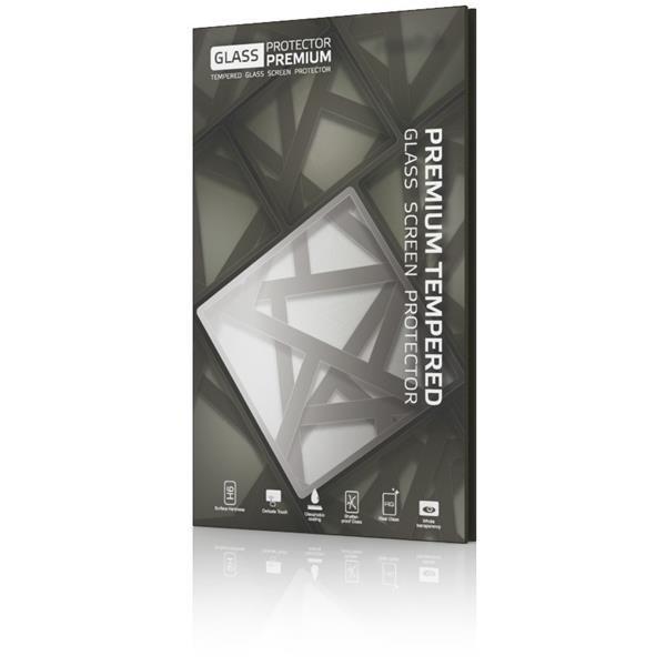 Glass Protector temperované sklo pre LG Q6; 0.3mm; Čierny rámik