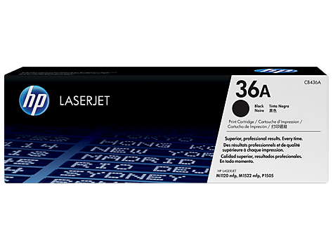 HP Toner cartridge, black pre LJ P1505, M1120, M1522, 2000 str.
