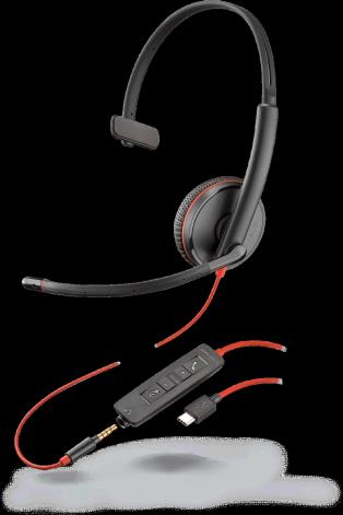Plantronics BLACKWIRE C3215 headset Mono, USB-C