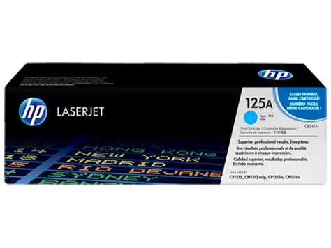 HP Toner Cartridge Cyan for CLJ CP1215/1515 (1400 pages)