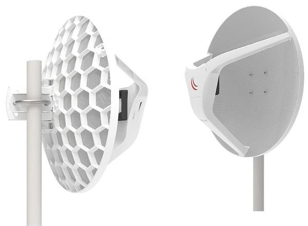 MIKROTIK RouterBOARD 2x Wireless Wire Dish 60GHz + L3 (716MHz, 256MB RAM, 1xGLAN, 1x 60GHz) outdoor kit