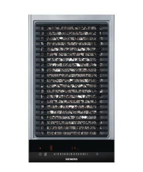 SIEMENS_30cm, touchSlider, 9 stupnov výkonu, lávový gril se sklokeramikou (bez dekoru)
