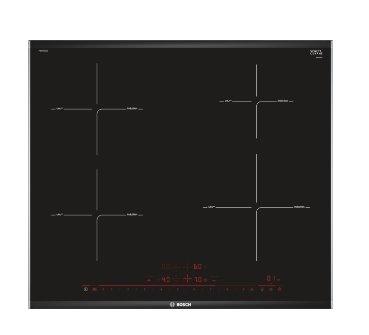 BOSCH_indukčná doska 60cm, komfort profil, DirectSelect, Timer, ukazovateľ doby varenia
