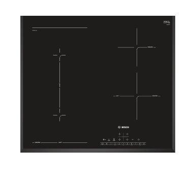 BOSCH_indukčná doska 60cm, U-fazeta, DirectSelect, CombiZone, Timer,automatické rozpoznanie hrnca