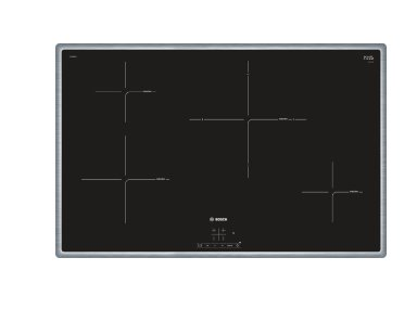 BOSCH_80cm, 4x indukčná zóna, PowerBoost, rozpozn. hrnca, senzor. ovl. TouchSelect, 4x ukaz.zost.tepla