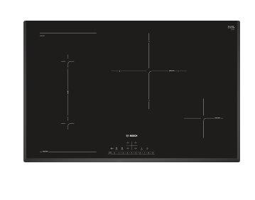 BOSCH_80cm, 4x indukčná zóna (1x CombiZóna s MoveMode), PowerBoost, rozpozn. hrnca