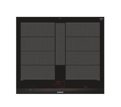 SIEMENS_indukčná doska 60cm, fazetový design, 2xFlexZone, FlexIndukce Plus, ovládanie Dual lightSlider