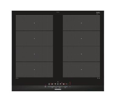 SIEMENS_60cm, fazetový design, 4 indukčné zóny s funkciou powerBoost, 2xFlexZone, fryingSensor Plus