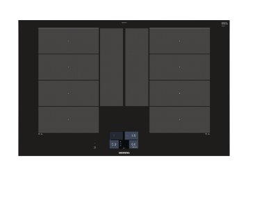 SIEMENS_flexindukce 80 cm s rozšířenou zónou flexIndukce Plus, fazetový design, dotykový TFT displej