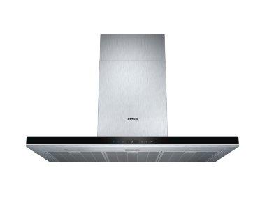 SIEMENS_A+, komínový 90cm, max. 460m3/hod / intenzivní 860m3/hod (3+2intenzivní), LED osvetlenie 3x3W