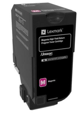 Lexmark CS725 purpurový toner s vysokou kapacitou 12K