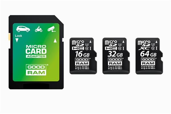 32 GB . microSDHC karta GOODRAM MLC U3 UHS-I + adapter