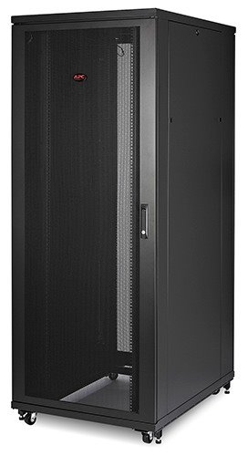 NetShelter SV 48U 800mm Wide x 1200mm Deep Enclosure with Sides Black