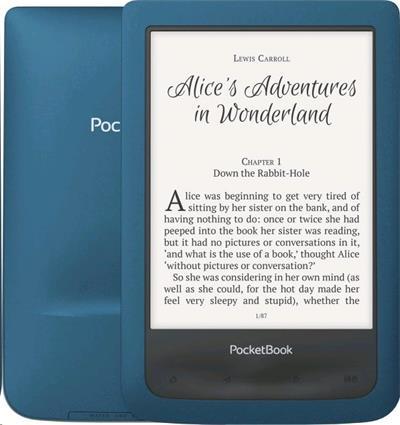 E-book POCKETBOOK 641 Aqua 2 modrá
