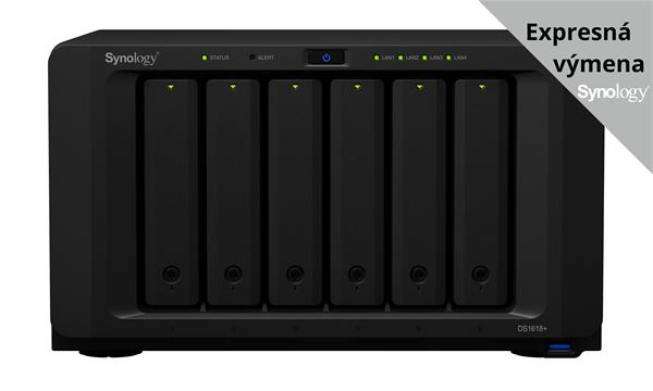 Synology™ DiskStation DS1618+ 6x HDD NAS VMware®, Citrix®,