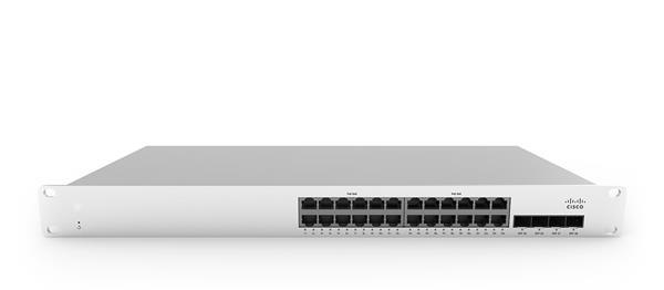Meraki MS210-24 1G L2 Cld-Mngd 24x GigE Switch