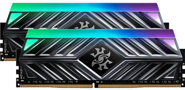DDR 4.... 16 GB . 3000MHz. CL16 SPECTRIX D41 Grey XMP Dual Color Box ( 2 x 8 GB )