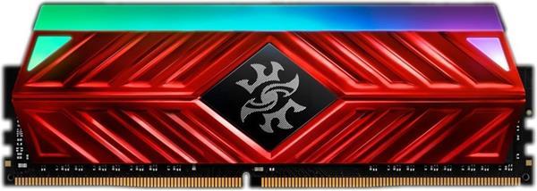 DDR 4.... 8 GB . 3000MHz. CL16 SPECTRIX D41 Red XMP Single Color Box