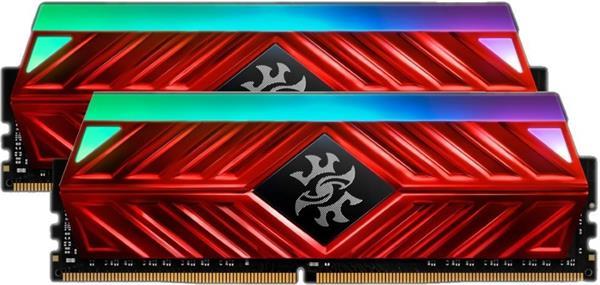DDR 4.... 16 GB . 3200MHz. CL16 SPECTRIX D41 Red XMP Dual Color Box ( 2 x 8 GB )