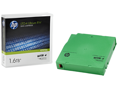 HP LTO4 Ultrium 1.6TB RW Data Tape LTO4