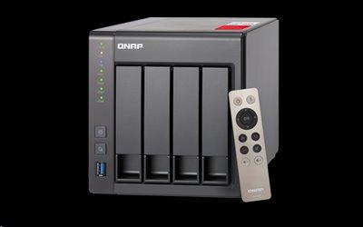 QNAP™ TS-451+-2G-EU Bay NAS, Intel® QC Celeron® 2.0GHz 2GB DDR3L RAM