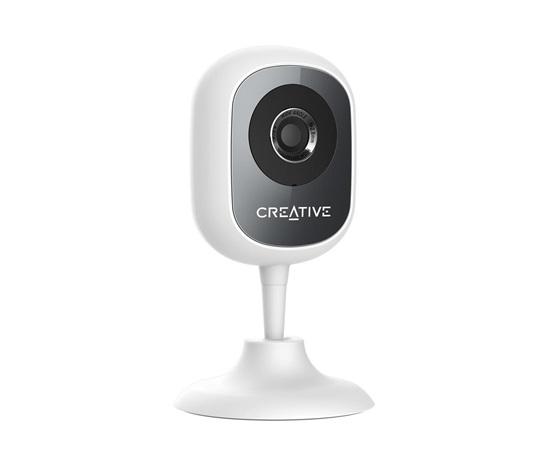 Creative LIVE! CAM IP SMARTHD, white, IP kamera, 1280x720,detekcia pohybu a zvuku, H.264