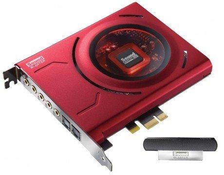 Creative Sound Blaster Z, zvuková karta PCIe interná