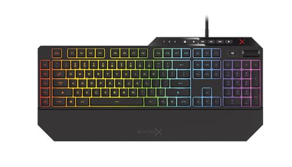 Creative Sound BlasterX VANGUARD K08 SE, prémiová herná mechanická klávesnica