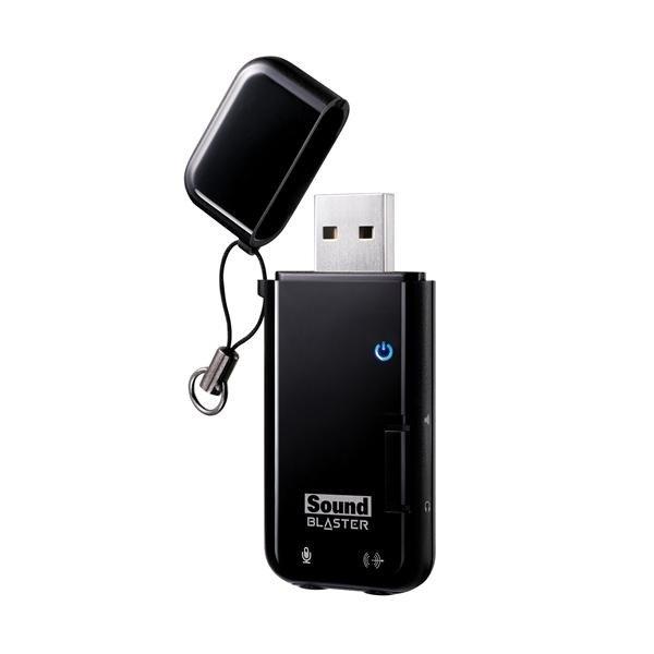 Creative Sound Blaster X-Fi Go! PRO, zvuková karta, USB, externá