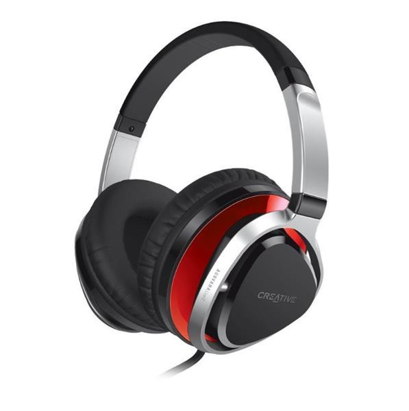 Creative Aurvana Live! 2, red, headset, 3.5mm jack