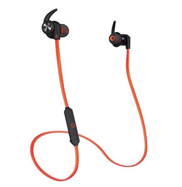 Creative OUTLIER Sports, bluetooth slúchadlá do uší, oranžové