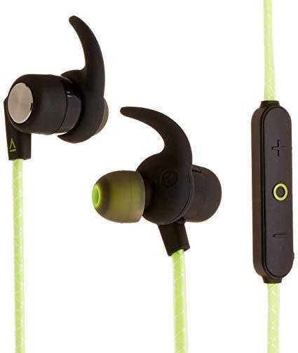 Creative OUTLIER SPORTS, green, bluetooth headset do uší