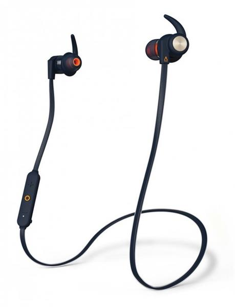 Creative OUTLIER Sports, bluetooth slúchadlá do uší, modré