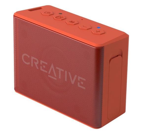 Creative MUVO 2C, Bluetooth reproduktor, IP66 vodeodolný, oranžový