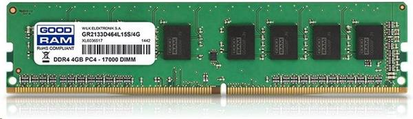 DDR 4 ............. 4 GB . 2400MHz . CL17 SR .......... GOODRAM