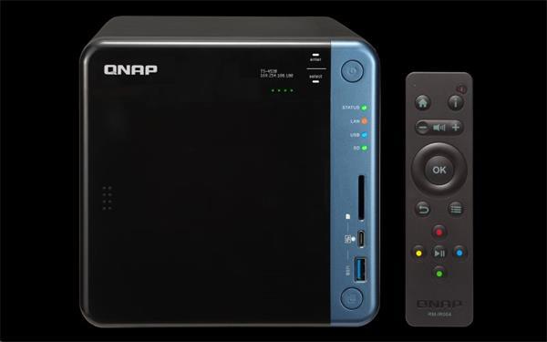 QNAP™ TS-453B-8G 4 Bay NAS, Intel Celeron®J3455 , 2x4GB DDR3L RAM, EU Edition