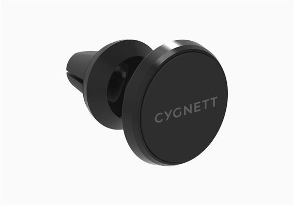 Cygnett MagMount Plus Vent, magnetický auto-držiak pre smartfóny s uchytením do mriežky ventilátora.
