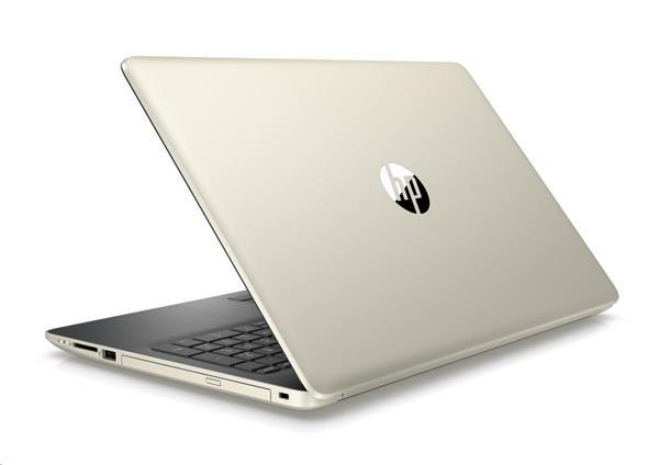 HP 15-db0031nc, A6-9225, 15.6 FHD/SVA, AMD Graphics, 4GB, 1TB 5k4, DVDRW, W10, Pale gold