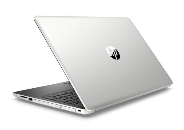 HP 15-db0027nc, R3-2200U, 15.6 FHD/SVA, 530/2GB, 8GB, SSD 128GB+1TB, DVDRW, W10, 2Y, Natural silver