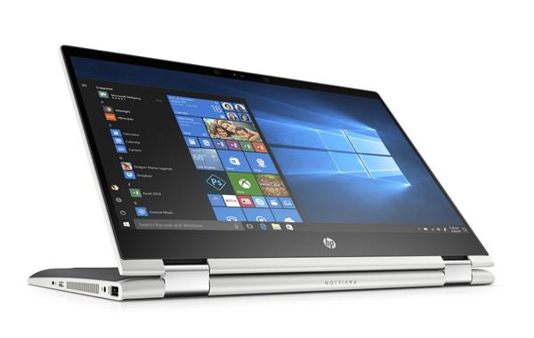 HP Pavilion x360 14-cd0007nc, Pentium 4415U, 14.0 FHD/IPS Touch, IntelHD610, 4GB, 1TB, W10, 2Y, Natural silver