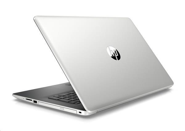 HP 17-by0017nc, i3-7020U, 17.3 HD+/SVA, 520/2GB, 8GB, SSD 128GB+1TB, DVDRW, W10, 2Y, Natural silver