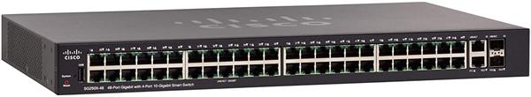 Cisco SG250X-48 48-Port Gigabit Smart Switch with 10G Uplinks