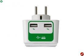 APC ochrana proti přepětí SurgeArrest 1 výstup 230 V, 2 nabíjecí porty USB