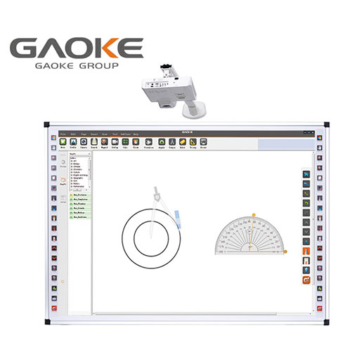 Interaktivny set - Gaoke Touchboard 82 + projektor Epson EB-520 + drziak