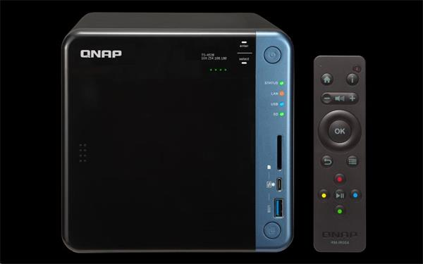 QNAP™ TS-453B-4G 4 Bay NAS, Intel Celeron®J3455 , 2x2GB DDR3L RAM, EU Edition