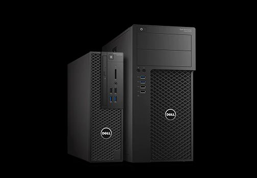 Dell Precision T3620 i7-6700K 16GB SATA SSD 256GB+1TB 2xP1000-4GB W10Pro 3Yr NBD