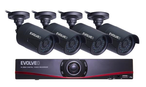EVOLVEO DETECTIVE D04NVR kamerový systém
