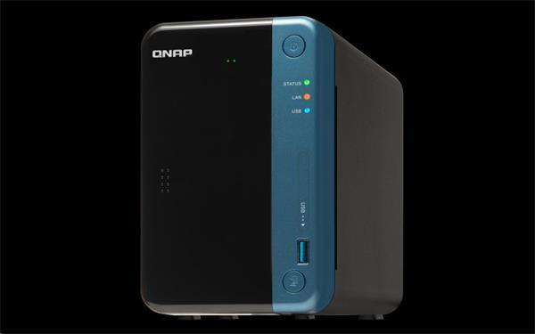 QNAP™TS-253Be-4G 2 Bay NAS, Intel Celeron® J3455 , 2x2GB DDR3L RAM, EU Edition
