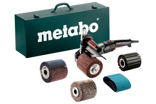 Metabo SE 17-200 RT Set Satinovacia brúska, nosná skrinka z oceľového plechu